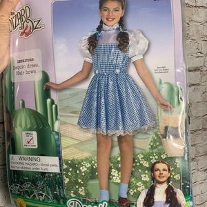 The Wizard of Oz Dorothy girls costume 3-4 years